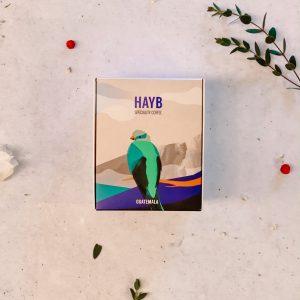 HAYB kawa Guatemala przód Kawiarnia Individual najlepsza kawa w Krakowie