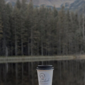 Kubek na wynos w lasu gory jezioro Kawiarnia Individual najlepsza kawiarnia w Krakowie