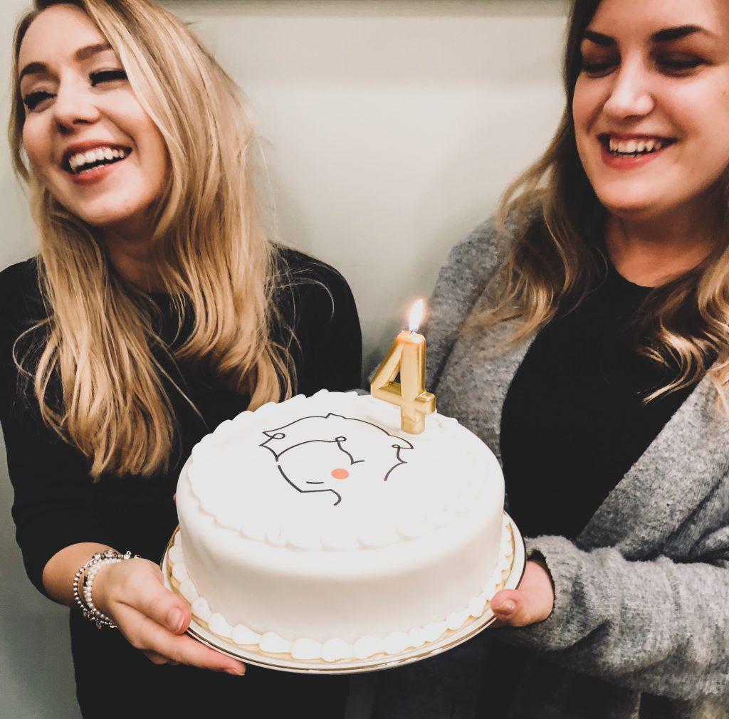 Paulina i Ana tort urodzinowy Kawiarnia Individual najlepsza ciasta w Krakowie