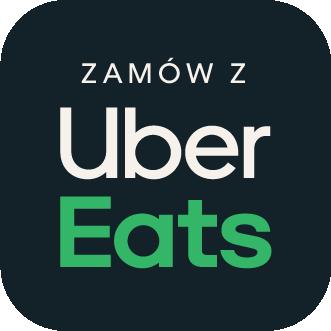 UberEats Badge Kawiarnia Individual najlepsza kawa ciasta kanapki w Krakowie